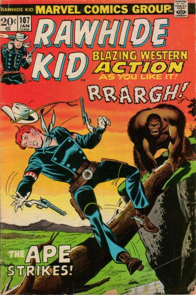 Cover for The Rawhide Kid (Marvel, 1960 series) #107