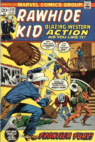 Cover for The Rawhide Kid (Marvel, 1960 series) #112