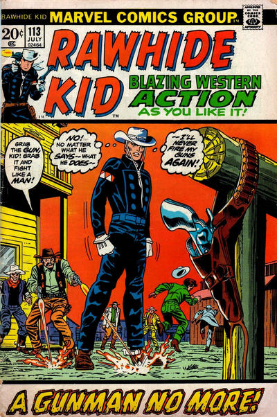 Cover for The Rawhide Kid (Marvel, 1960 series) #113