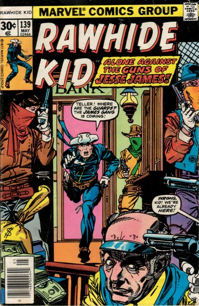 Cover for The Rawhide Kid (Marvel, 1960 series) #139
