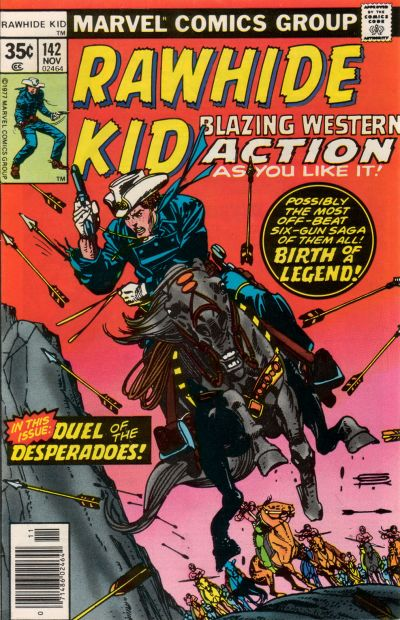 Cover for The Rawhide Kid (Marvel, 1960 series) #142