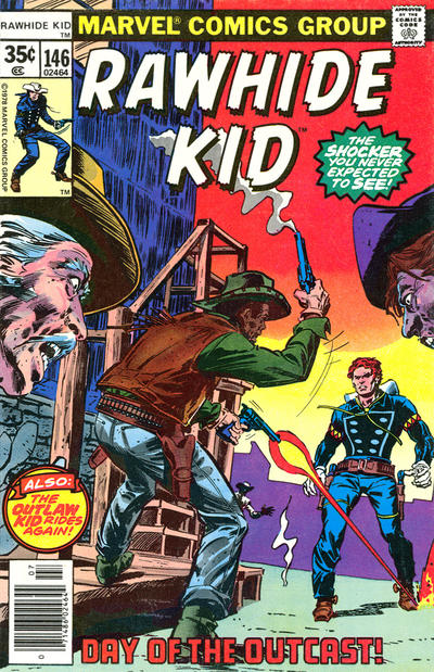 Cover for The Rawhide Kid (Marvel, 1960 series) #146