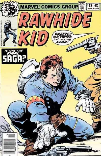 Cover for The Rawhide Kid (Marvel, 1960 series) #148