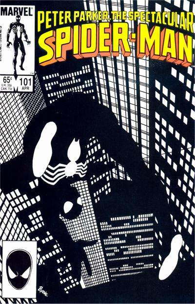 Cover for The Spectacular Spider-Man (Marvel, 1976 series) #101 [Direct]