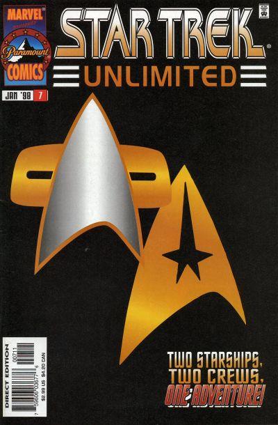 Cover for Star Trek Unlimited (Marvel, 1996 series) #7