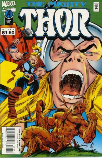 Cover for Thor (Marvel, 1966 series) #490