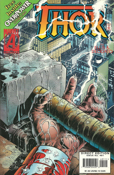 Cover for Thor (Marvel, 1966 series) #491