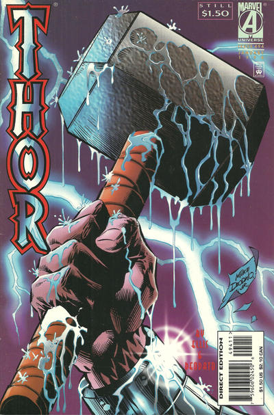 Cover for Thor (Marvel, 1966 series) #494