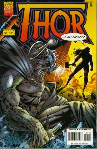 Cover for Thor (Marvel, 1966 series) #497