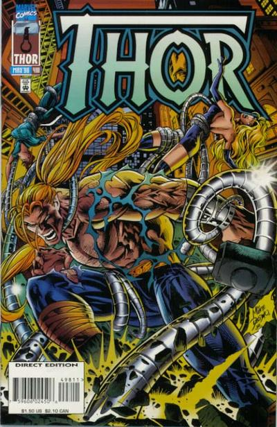 Cover for Thor (Marvel, 1966 series) #498