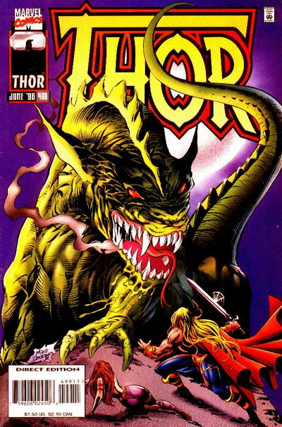 Cover for Thor (Marvel, 1966 series) #499