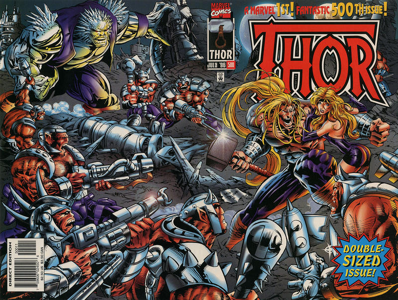 Cover for Thor (Marvel, 1966 series) #500
