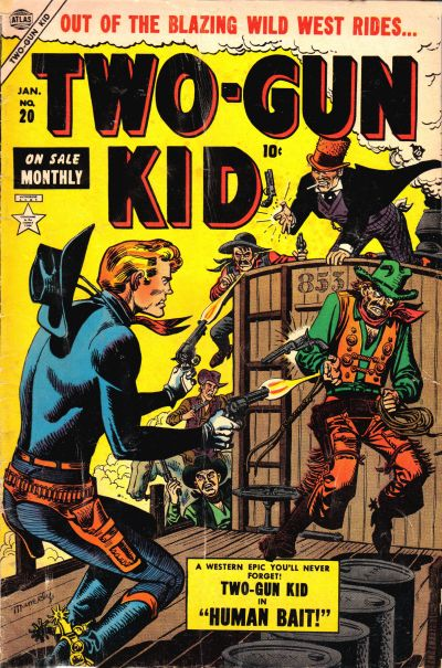 Cover for Two Gun Kid (Marvel, 1953 series) #20