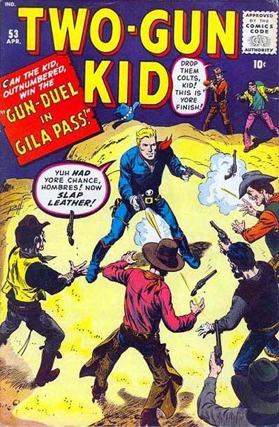 Cover for Two Gun Kid (Marvel, 1953 series) #53