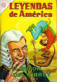 Cover Thumbnail for Leyendas de América (Editorial Novaro, 1956 series) #99
