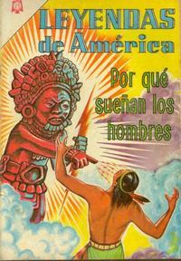 Cover Thumbnail for Leyendas de América (Editorial Novaro, 1956 series) #103