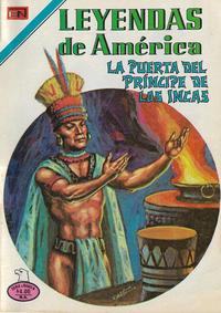 Cover Thumbnail for Leyendas de América (Editorial Novaro, 1956 series) #342