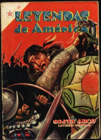 Cover for Leyendas de América (Editorial Novaro, 1956 series) #4