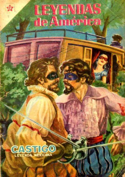 Cover for Leyendas de América (Editorial Novaro, 1956 series) #9