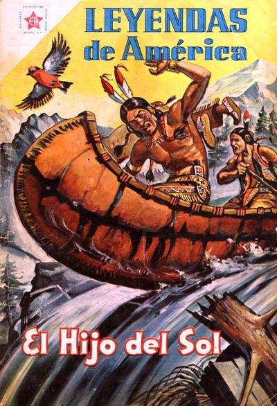 Cover for Leyendas de América (Editorial Novaro, 1956 series) #19