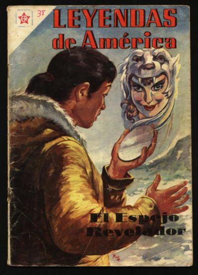 Cover for Leyendas de América (Editorial Novaro, 1956 series) #38