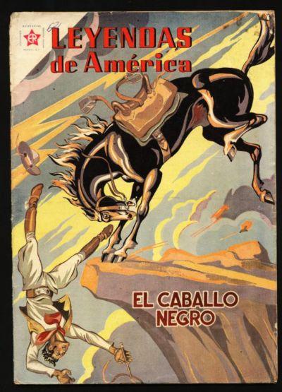 Cover for Leyendas de América (Editorial Novaro, 1956 series) #52