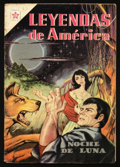 Cover for Leyendas de América (Editorial Novaro, 1956 series) #53