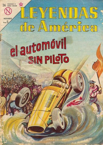 Cover for Leyendas de América (Editorial Novaro, 1956 series) #95