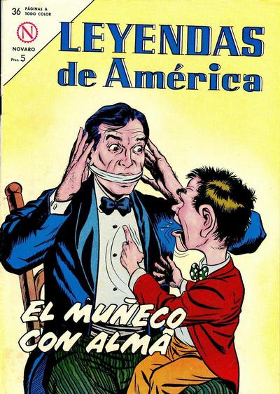 Cover for Leyendas de América (Editorial Novaro, 1956 series) #97