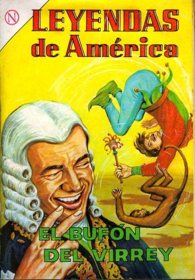 Cover for Leyendas de América (Editorial Novaro, 1956 series) #99