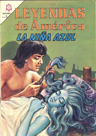 Cover for Leyendas de América (Editorial Novaro, 1956 series) #109