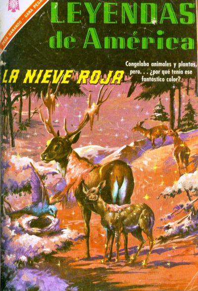 Cover for Leyendas de América (Editorial Novaro, 1956 series) #128