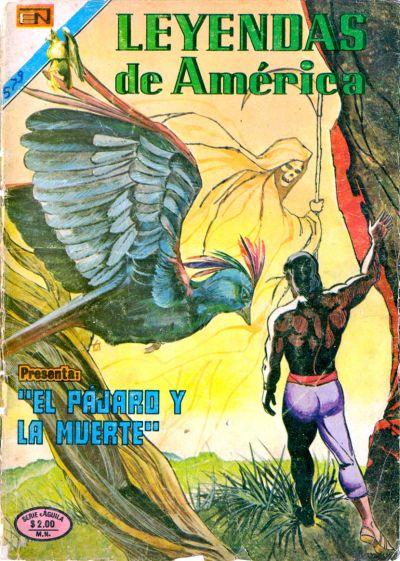 Cover for Leyendas de América (Editorial Novaro, 1956 series) #259