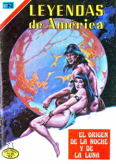 Cover for Leyendas de América (Editorial Novaro, 1956 series) #336