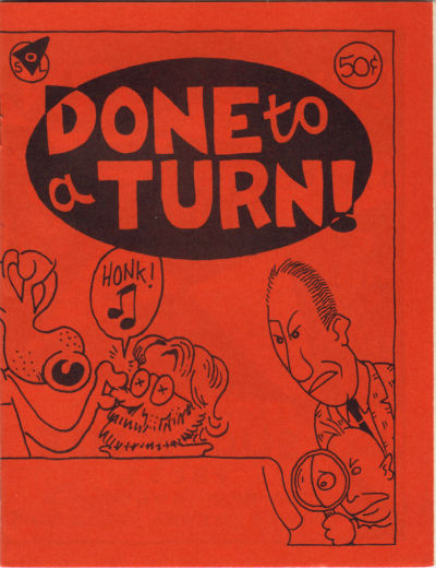 Cover for Done to a Turn (Slice O' Life Comics, 1987 series) #[nn]