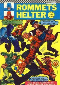 Cover Thumbnail for Rommets Helter (Serieforlaget / Se-Bladene / Stabenfeldt, 1965 series) #4/1967