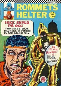 Cover Thumbnail for Rommets Helter (Serieforlaget / Se-Bladene / Stabenfeldt, 1965 series) #2/1968