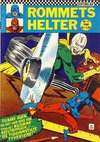 Cover Thumbnail for Rommets Helter (Serieforlaget / Se-Bladene / Stabenfeldt, 1965 series) #4/1968