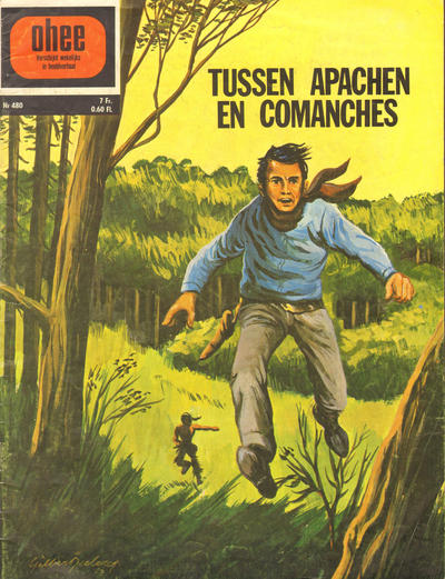 Cover for Ohee (Het Volk, 1963 series) #480