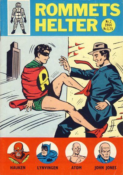 Cover for Rommets Helter (Serieforlaget / Se-Bladene / Stabenfeldt, 1965 series) #2/1966