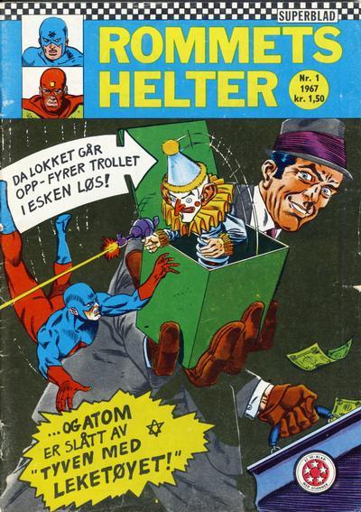Cover for Rommets Helter (Serieforlaget / Se-Bladene / Stabenfeldt, 1965 series) #1/1967