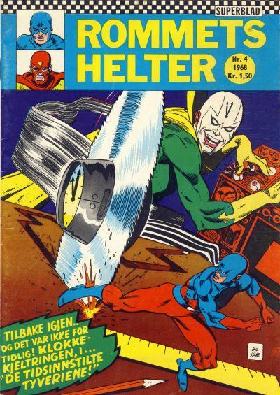 Cover for Rommets Helter (Serieforlaget / Se-Bladene / Stabenfeldt, 1965 series) #4/1968
