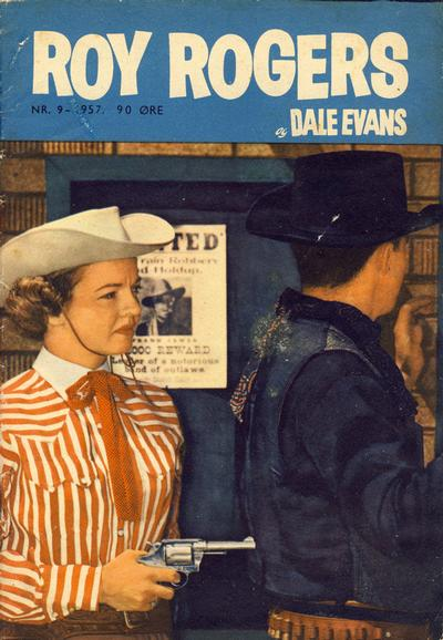 Cover for Roy Rogers (Serieforlaget / Se-Bladene / Stabenfeldt, 1954 series) #9/1957