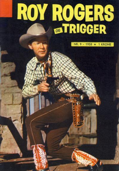 Cover for Roy Rogers (Serieforlaget / Se-Bladene / Stabenfeldt, 1954 series) #9/1958