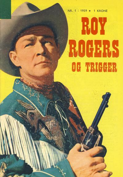 Cover for Roy Rogers (Serieforlaget / Se-Bladene / Stabenfeldt, 1954 series) #1/1959