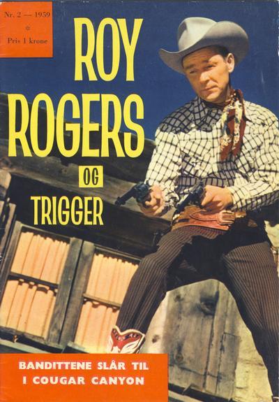 Cover for Roy Rogers (Serieforlaget / Se-Bladene / Stabenfeldt, 1954 series) #2/1959