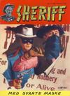 Cover for Sheriff (Serieforlaget / Se-Bladene / Stabenfeldt, 1959 series) #3/1963