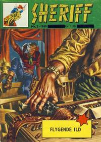 Cover for Sheriff (Serieforlaget / Se-Bladene / Stabenfeldt, 1968 series) #2/1969