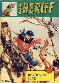 Cover Thumbnail for Sheriff (Serieforlaget / Se-Bladene / Stabenfeldt, 1968 series) #3/1973