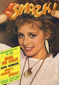 Cover Thumbnail for Smazk! (Serieforlaget / Se-Bladene / Stabenfeldt, 1986 series) #2/1986